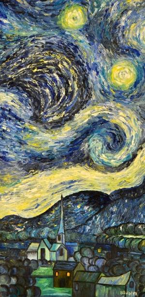 La Noche Estrellada / The Starry Night