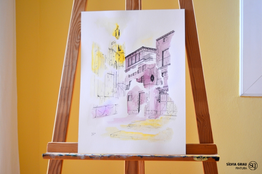 7- La Plaça de Santa Maria